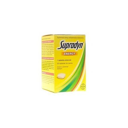 Supradyn Energy, tabletki do ssania marki Bayer - zdjęcie nr 1 - Bangla