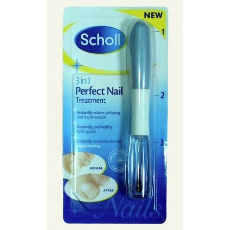 Healthy Nails, 3 w 1 system redukujący żółknięcie i odbarwianie paznokci marki Scholl - zdjęcie nr 1 - Bangla