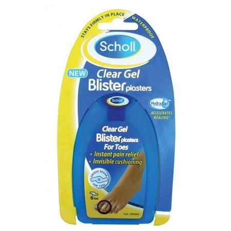 Clear Gel blister plaster for Toes, Plastry na pęcherze na palcach stóp marki Scholl - zdjęcie nr 1 - Bangla