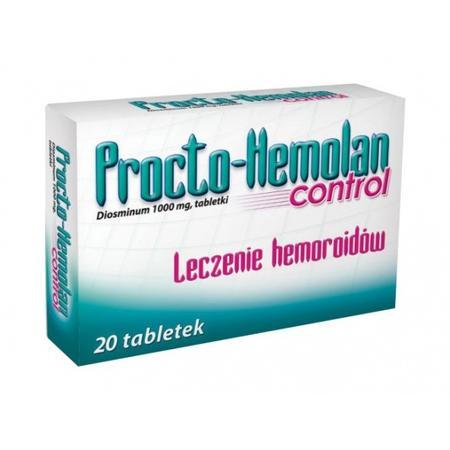 Procto Hemolan Control, tabletki marki Aflofarm - zdjęcie nr 1 - Bangla