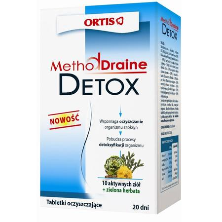 MethodDraine Detox, Tabletki oczyszczające organizm z toksyn marki Ortis - zdjęcie nr 1 - Bangla