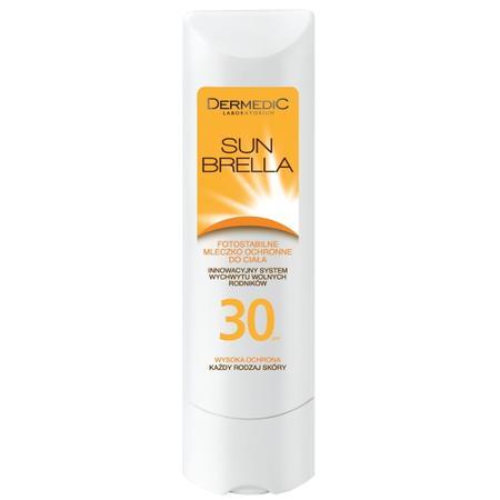 Sunbrella 30, Fotostabilne mleczko ochronne do ciała marki Dermedic - zdjęcie nr 1 - Bangla