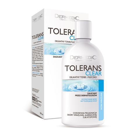 Tolerans Clear, Delikatny tonik-mleczko marki Dermedic - zdjęcie nr 1 - Bangla