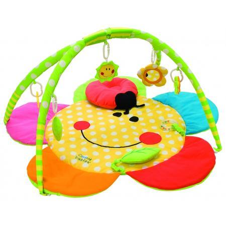 Mata do zabawy z poduszką Uśmiechnięta buzia marki Canpol babies - zdjęcie nr 1 - Bangla