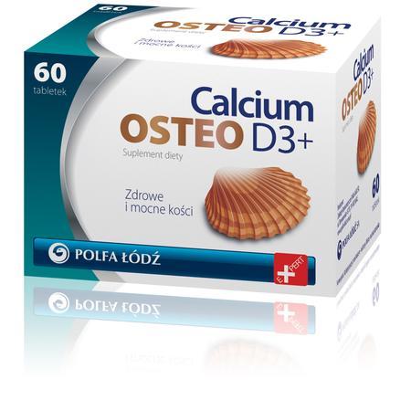 Calcium Osteo D3+ marki Polfa Łódź - zdjęcie nr 1 - Bangla