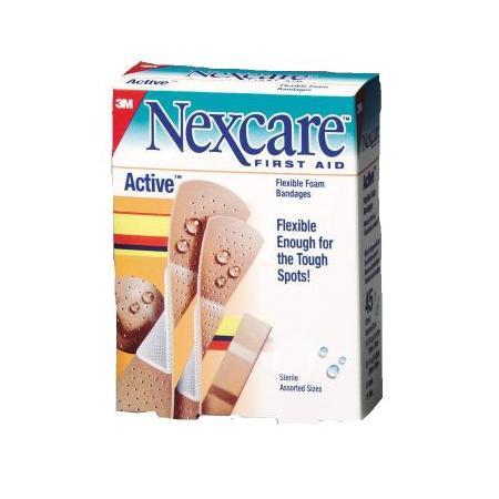 Active plastry elastyczne marki Nexcare - zdjęcie nr 1 - Bangla