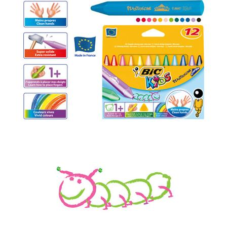 Plastidecor Triangle Bic Kids marki Bic - zdjęcie nr 1 - Bangla