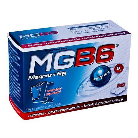 Mg B6, magnez + B6 marki Aflofarm - zdjęcie nr 1 - Bangla