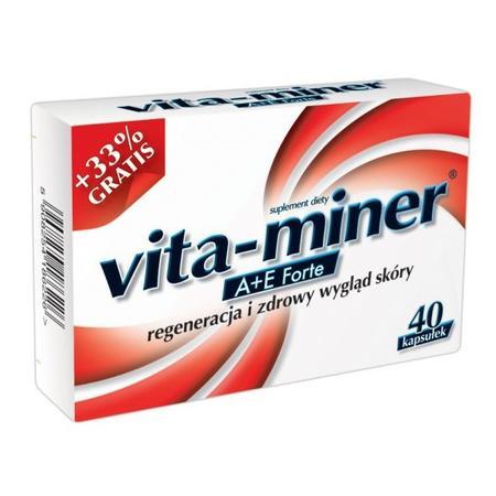 Vita Miner A + E Forte, kapsułki marki Aflofarm - zdjęcie nr 1 - Bangla