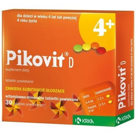 Pikovit D 4+, tabletki marki Krka - zdjęcie nr 1 - Bangla