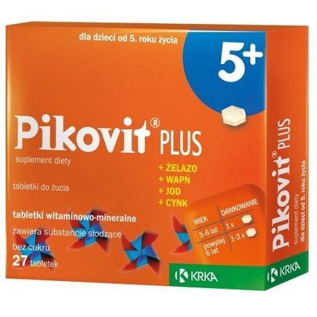 Pikovit 5+, tabletki do żucia marki Krka - zdjęcie nr 1 - Bangla