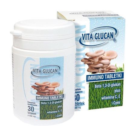 Vita Glucan Immuno tabletki marki Apipol Farma - zdjęcie nr 1 - Bangla