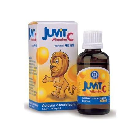 Juvit C, witamina C w kroplach marki Hasco-Lek - zdjęcie nr 1 - Bangla