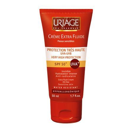 Creme Extra Fluide SPF 50+, Fluid przeciwsłoneczny do twarzy marki Uriage - zdjęcie nr 1 - Bangla