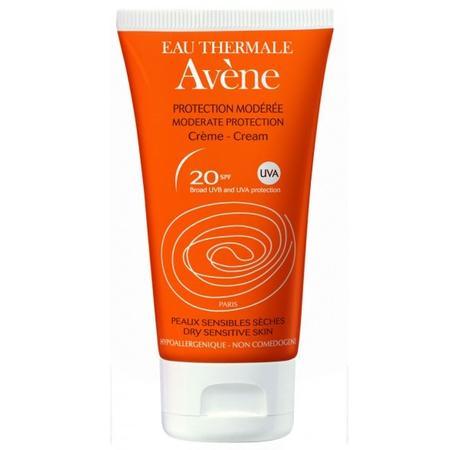 Protection Moderee Creme SPF 20, dry sensitive skin, Krem z umiarkowaną ochroną przeciwsłoneczną skóra sucha i wrażliwa marki Avene - zdjęcie nr 1 - Bangla