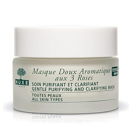 Masque Doux Aromatique aux 3 Roses, Delikatna aromatyczna maseczka oczyszczajaca na bazie 3 róż marki Nuxe Paris - zdjęcie nr 1 - Bangla