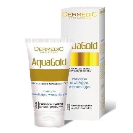 AquaGold, Maseczka nawilżająco-wzmacniająca marki Dermedic - zdjęcie nr 1 - Bangla