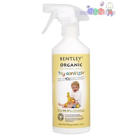 Toy Sanitizer, Antybakteryjny spray do mycia zabawek marki Bentley Organic - zdjęcie nr 1 - Bangla