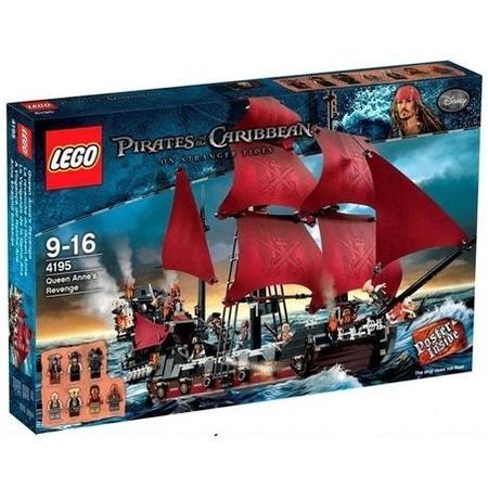 Pirates Of The Caribbean Zemsta Królowej Anny 4195 Lego Opinie