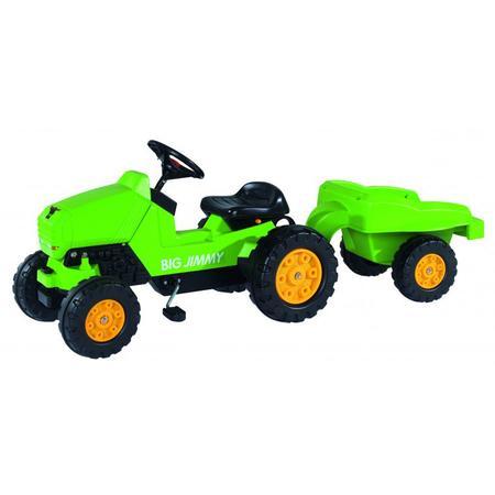 Traktor JIMMI z przyczepą, 56524 marki BIG - zdjęcie nr 1 - Bangla