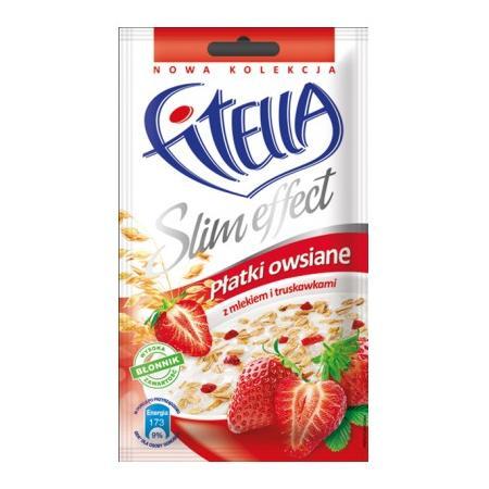 Fitella Slim Effect, Płatki owsiane - różne smaki marki Gellwe - zdjęcie nr 1 - Bangla