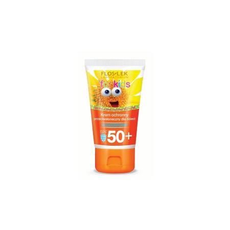 For Kids, Krem ochronny przeciwsłoneczny dla dzieci SPF50+ 50 ml marki FlosLek - zdjęcie nr 1 - Bangla