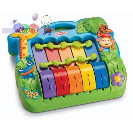 Muzyczne cymbałki, M2601 marki Fisher-Price - zdjęcie nr 1 - Bangla