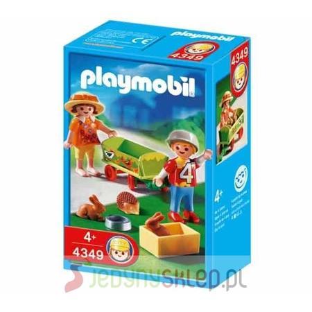 Wózek Z Małymi Zwierzętami 4349 marki Playmobil - zdjęcie nr 1 - Bangla