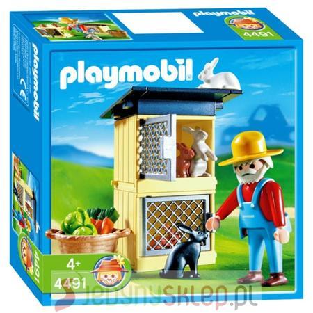 Klatka Z Królikami 4491 marki Playmobil - zdjęcie nr 1 - Bangla