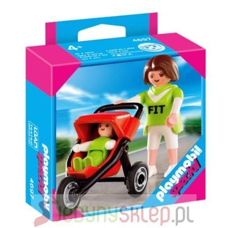 Mama Z Wózkiem 4697 marki Playmobil - zdjęcie nr 1 - Bangla