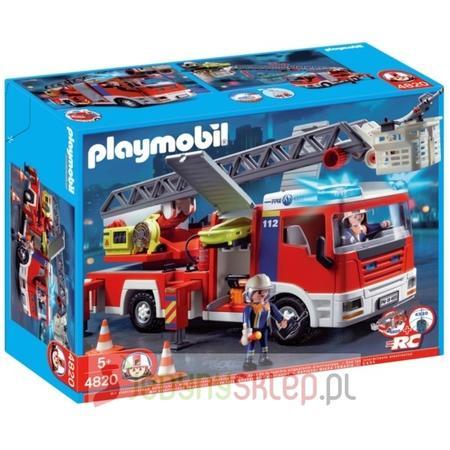 Samochód Strażacki Z Drabiną, 4820 marki Playmobil - zdjęcie nr 1 - Bangla