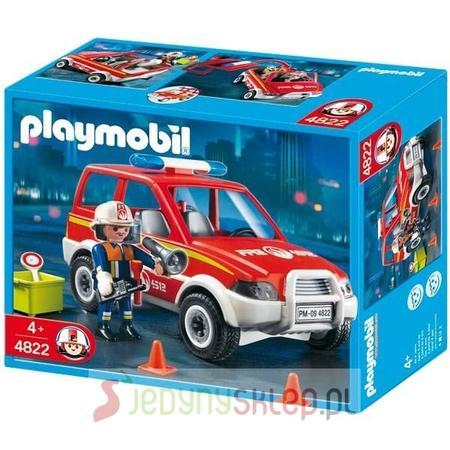 Samochód Dowódcy Straży Pożarnej, 4822 marki Playmobil - zdjęcie nr 1 - Bangla