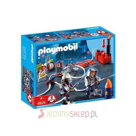 Strażacy Z Pompą Gaśniczą 4825 marki Playmobil - zdjęcie nr 1 - Bangla