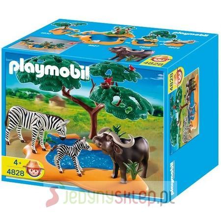 Bawół Z Zebrami 4828 marki Playmobil - zdjęcie nr 1 - Bangla