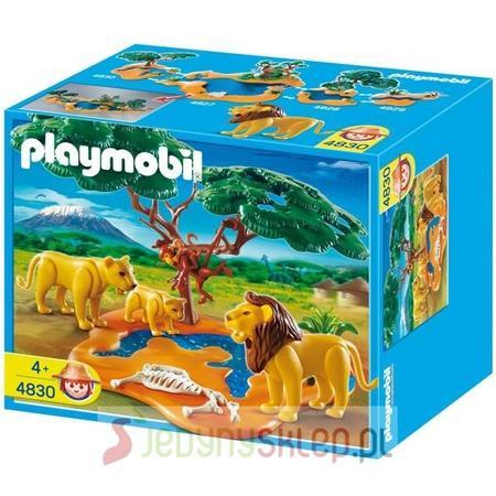 Lwia Rodzina Z Małpkami 4830 marki Playmobil - zdjęcie nr 1 - Bangla