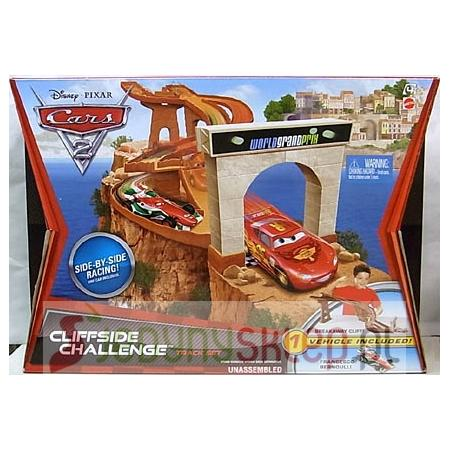 Cars 2 Auta Wyścig Nad Klifem, V2867 marki Mattel - zdjęcie nr 1 - Bangla