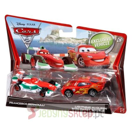 Cars 2 Auta Dwupak, V2832 marki Mattel - zdjęcie nr 1 - Bangla