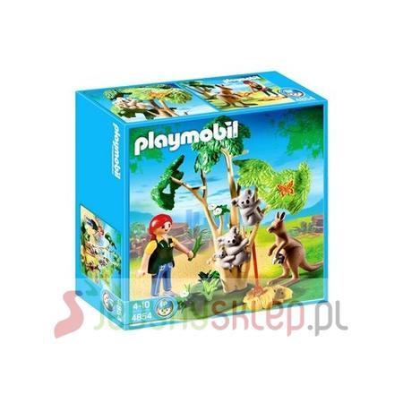 Drzewko Z Misiami Koala I Kangurem, 4854 marki Playmobil - zdjęcie nr 1 - Bangla