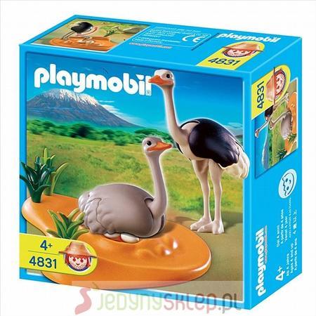 Para Strusi Z Gniazdem 4831 marki Playmobil - zdjęcie nr 1 - Bangla