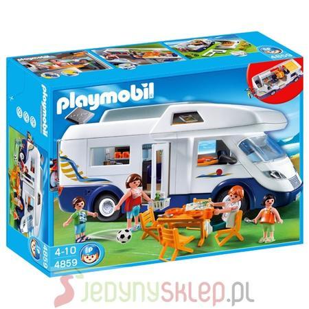 Samochód Campingowy 4859 marki Playmobil - zdjęcie nr 1 - Bangla