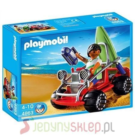 Quad Plażowy 4863 marki Playmobil - zdjęcie nr 1 - Bangla