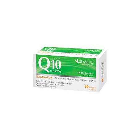 Q10 Sensitive, tabletki do ssania marki Sensilab - zdjęcie nr 1 - Bangla