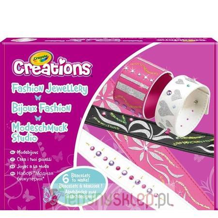 Crayola Fashion Jewellery, Zestaw Ozdobne Bransoletki marki Russell - zdjęcie nr 1 - Bangla