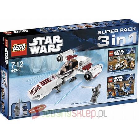 Star Wars Super Pack 3 in 1, 66378 marki Lego - zdjęcie nr 1 - Bangla