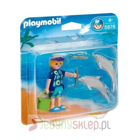 Opiekunka Z Małym Delfinem 5876 marki Playmobil - zdjęcie nr 1 - Bangla