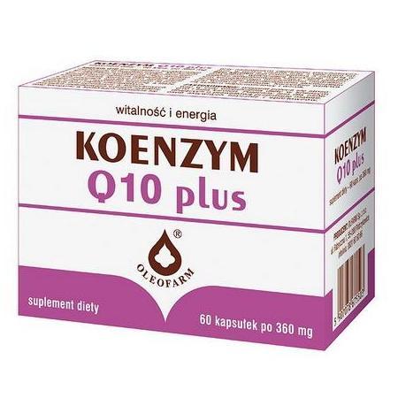 Koenzym Q10 plus marki Oleofarm - zdjęcie nr 1 - Bangla