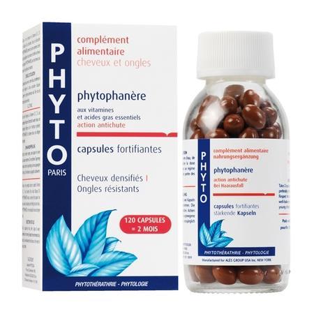 Phytophanere, kapsułki wzmacniające włosy i paznokcie marki Phyto - zdjęcie nr 1 - Bangla