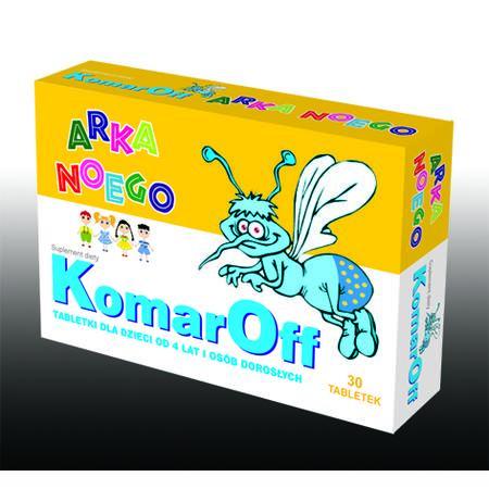 KomarOff, tabletki marki Domowa Apteczka - zdjęcie nr 1 - Bangla