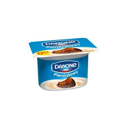 Pierniczkowy, jogurt marki Danone - zdjęcie nr 1 - Bangla