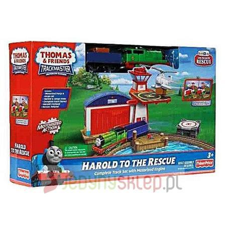 Thomas & Friends, Harold to the Rescue, Lądowisko dla Harolda, R9633 marki Fisher-Price - zdjęcie nr 1 - Bangla